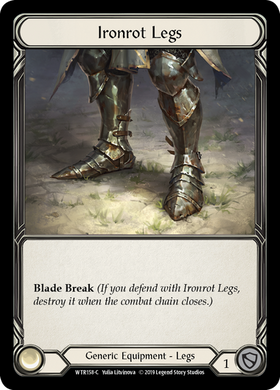Ironrot Legs | Common [Cold Foil]