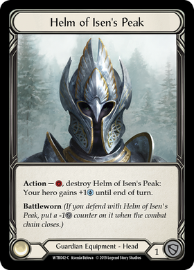 Helm of Isen's Peak | Common [Cold Foil]