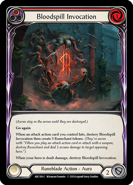 Bloodspill Invocation (Red) | Common [Rainbow Foil]
