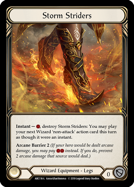 Storm Striders | Legendary [Cold Foil] - 1st Edition