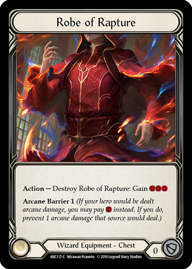Robe of Rapture | Common [Cold Foil] - 1st Edition