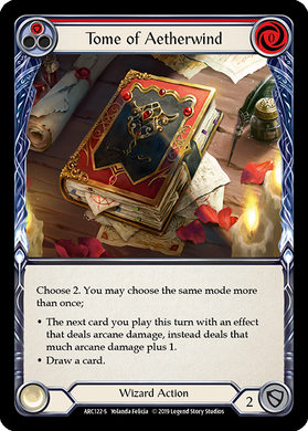 Tome of Aetherwind | Super Rare - 1st Edition