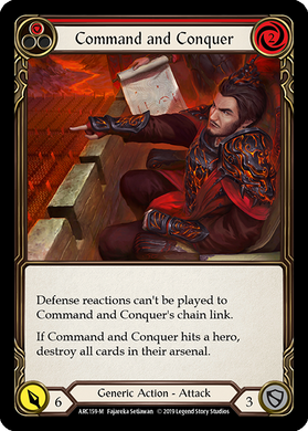 Command and Conquer | Majestic [Rainbow Foil] - 1st Edition