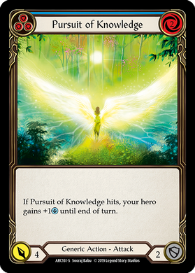 Pursuit of Knowledge | Super Rare [Rainbow Foil] - 1st Edition