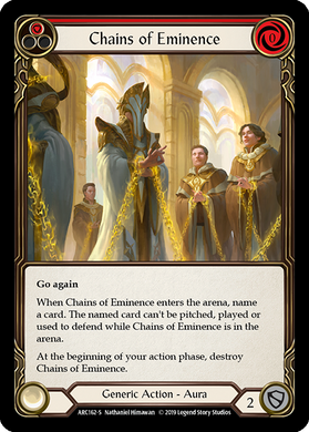 Chains of Eminence | Super Rare [Rainbow Foil] - 1st Edition