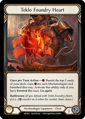 Teklo Foundry Heart | Legendary [Cold Foil] - 1st Edition