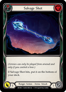 Salvage Shot (Red) | Common [Rainbow Foil] - 1st Edition