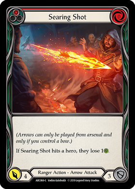Searing Shot (Red) | Common