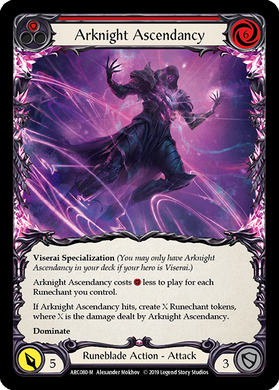 Arknight Ascendancy | Majestic [Rainbow Foil] - 1st Edition