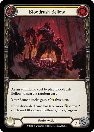 Bloodrush Bellow | Majestic - Alpha Print