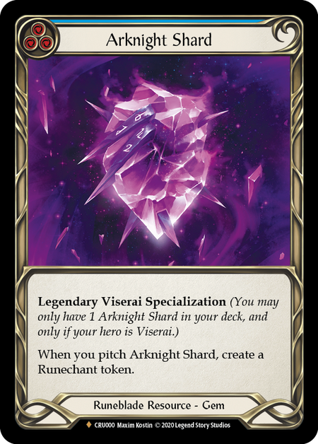 Arknight Shard | Fabled [Cold Foil] - 1st Edition