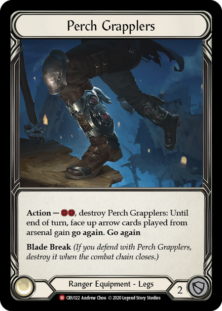 Perch Grapplers | Majestic [Cold Foil] - 1st Edition