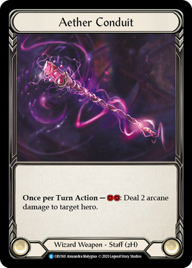 Aether Conduit | Rare - 1st Edition
