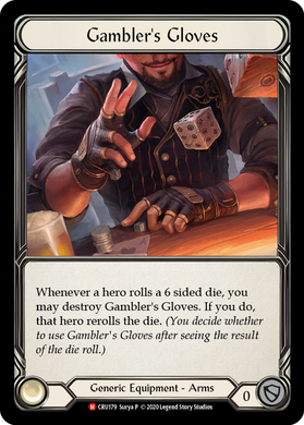 Gambler's Glove | Majestic [Cold Foil] - 1st Edition