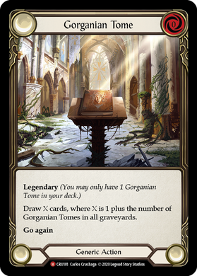 Gorganian Tome | Majestic [Rainbow Foil] - 1st Edition