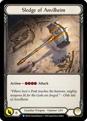 Sledge of Anvilheim | Rare [Cold Foil]