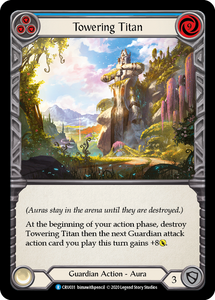 Towering Titan (Blue) | Rare - 1st Edition