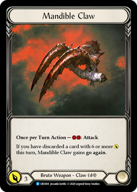 Mandible Claw | Rare [Cold Foil]