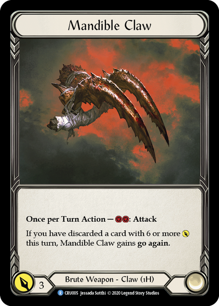 Mandible Claw | Rare - 1st Edition