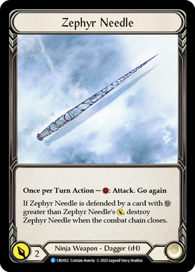 Zephyr Needle | Rare - 1st Edition