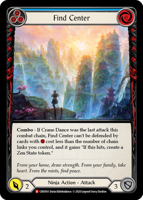 Find Center | Majestic [Rainbow Foil]