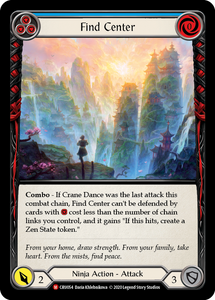 Find Center | Majestic [Rainbow Foil] - 1st Edition