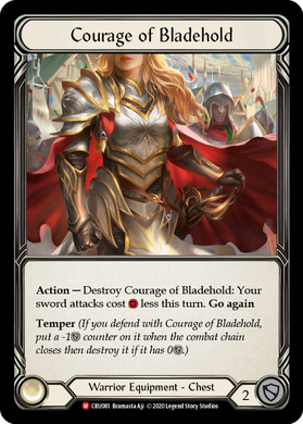 Courage of Bladehold | Majestic [Cold Foil] - 1st Edition