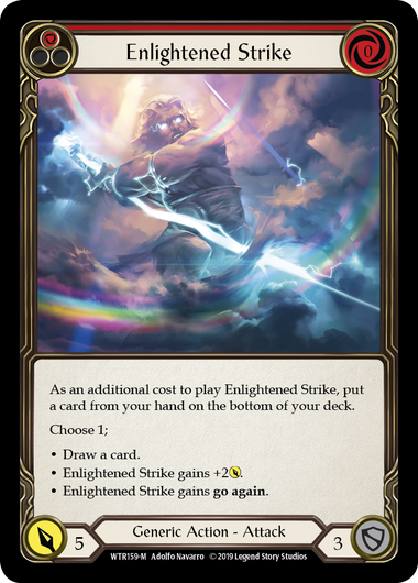 Enlightened Strike | Majestic - Alpha Print