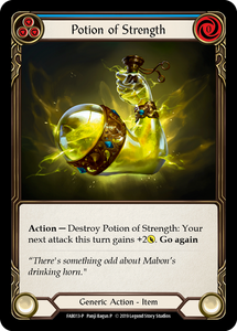 Potion of Strength | Promo [Cold Foil]