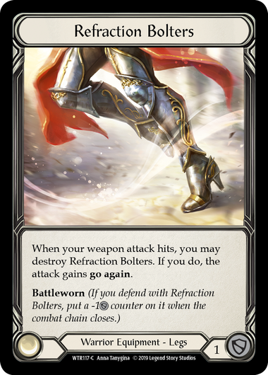 Refraction Bolters | Common [Cold Foil] - Alpha Print