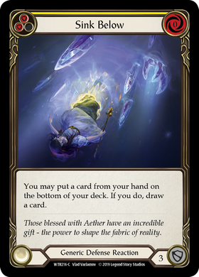 Sink Below (Yellow) | Common [Rainbow Foil]