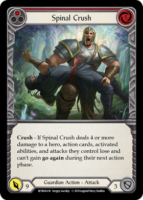 Spinal Crush | Majestic [Rainbow Foil] - Alpha Print