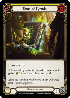Tome of Fyendal | Majestic [Rainbow Foil] - Alpha Print