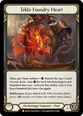 Teklo Foundry Heart | Legendary [Rainbow Foil] - Unlimited