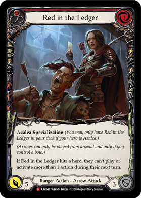 Red in the Ledger | Majestic [Rainbow Foil] - Unlimited
