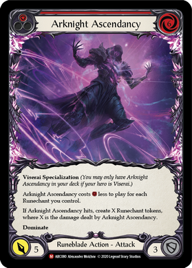 Arknight Ascendancy | Majestic [Rainbow Foil] - Unlimited