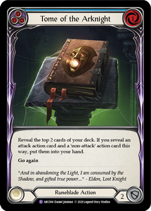 Tome of the Arknight | Super Rare [Rainbow Foil] - Unlimited