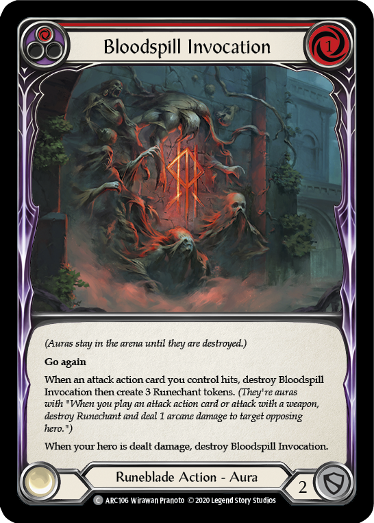 Bloodspill Invocation (Red) | Common - Unlimited