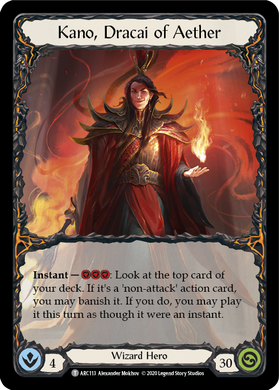 Kano, Dracai of Aether | Token - Unlimited