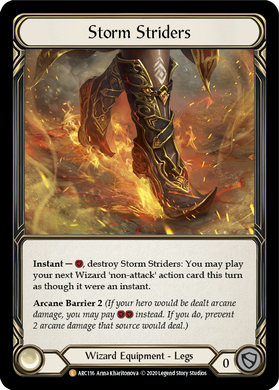 Storm Striders | Legendary [Rainbow Foil] - Unlimited
