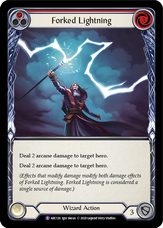 Forked Lightning | Super Rare - Unlimited