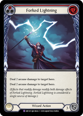 Forked Lightning | Super Rare [Rainbow Foil] - Unlimited