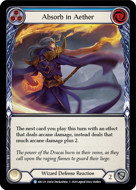 Absorb in Aether (Blue) | Rare - Unlimited
