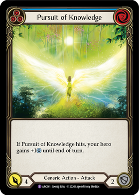 Pursuit of Knowledge | Super Rare [Rainbow Foil] - Unlimited