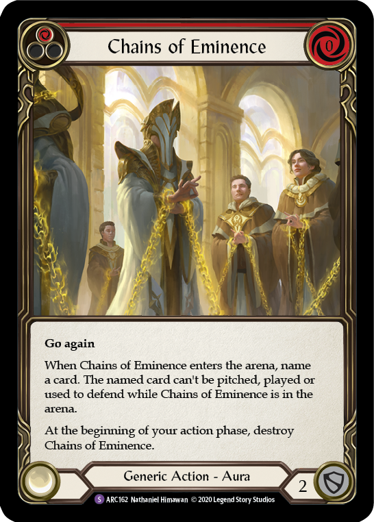 Chains of Eminence | Super Rare [Rainbow Foil] - Unlimited