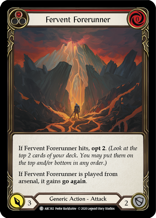 Fervent Forerunner (Red) | Common - Unlimited