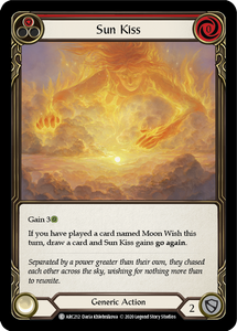 Sun Kiss (Red) | Common [Rainbow Foil] - Unlimited