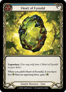 Heart of Fyendal | Fabled [Rainbow Foil] - Unlimited