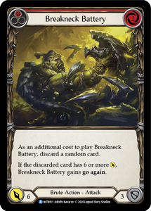 Breakneck Battery (Red) | Rare [Rainbow Foil] - Unlimited