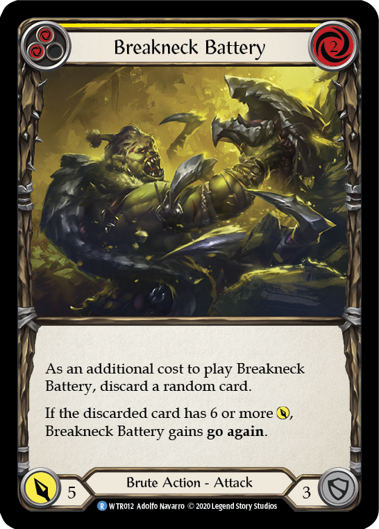 Breakneck Battery (Yellow) | Rare [Rainbow Foil] - Unlimited